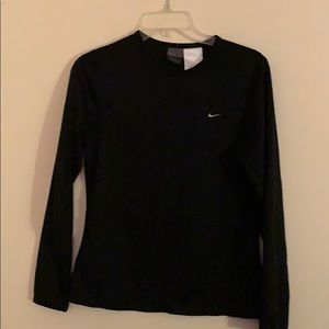Nike long sleeve dri-fit tee